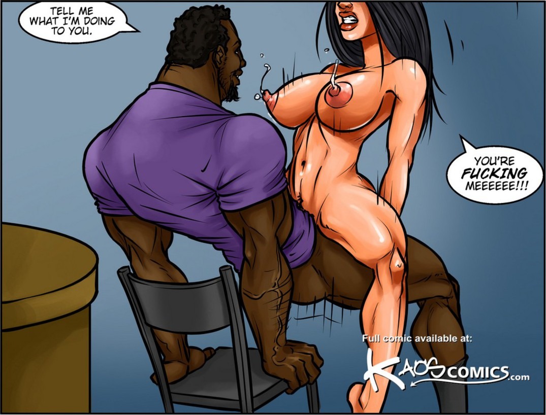 Big black booty cartoon porn comics