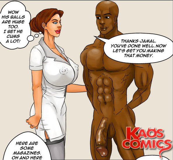 Please where Sex comics about big black cock words... super